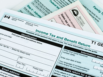 filing income tax, CRA filing, T1 General, income tax return, personal tax services